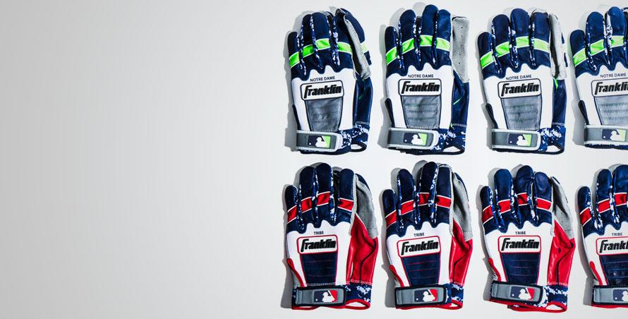 custom team batting gloves