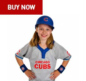 chicago cubs kids uniform set