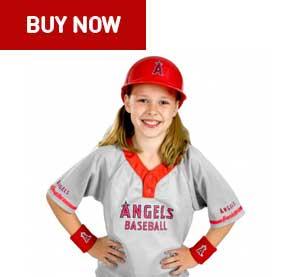 los angeles angels kids uniform set