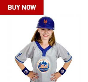 new york mets kids uniform set