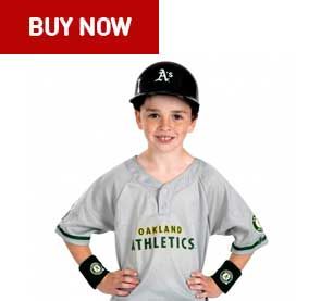 oakland athletics kids uniform set