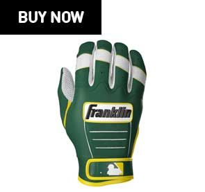 oakland athletics batting gloves