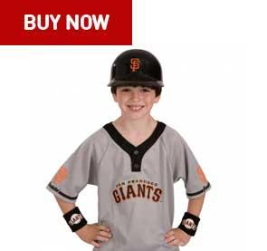 san francisco giants kids uniform set