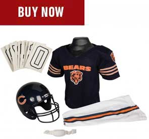 timeless design 67f34 284a4 Chicago Bears Youth Jersey & Helmet Sets | Franklin Sports
