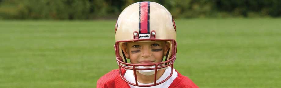 3dd6784a Shop Kids 49ers Jerseys, Helmets & Gear   Franklin Sports