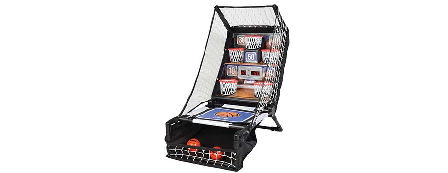 mini arcade basketball hoop