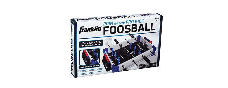 mini foosball table franklin sports